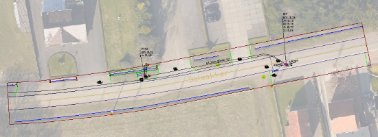 SPC_Onder- en bovengrondse opmeting_As-built plan voorbeeld Lille_018
